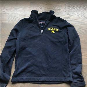 Michigan half zip